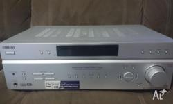 For sale SONY Amplifier. 5 channel, Dolby Digital
