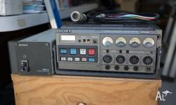 SONY BVW 35P PORTABLE BETACAM SP RECORDER. comes with