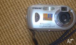 Sony Digital Camera cyber-shot DSC P43 Excellent