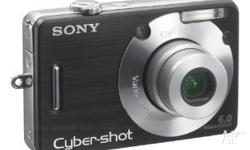 Sony cybershot digital camera 6.0 mega pixels. Very