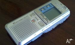 Sony refurbished, as new digital voice recorder in box,
