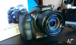 A digital camera from SONY near new one with SD card
