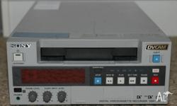 Sony DSR 20 P Video recorder for full DV tapes and