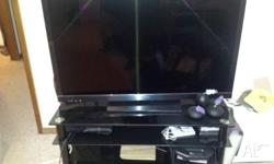 Comes with 45 inch Sony Bravia 3D, Sony PS3 Console + 2