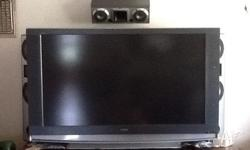 Sony with surround sound system and tv unit