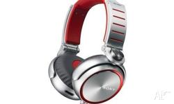 Sony MDR-XB920 Extra Bass Headphones (Red) Condition: