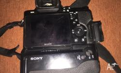 I am selling my under a year old Sony NEX a7r
