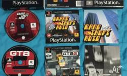 Sony Playstation 1 Game: Grand Theft Auto Collector's