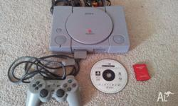 Used Sony PlayStation Console includes 1 x Controller,