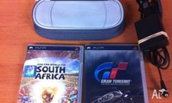 Playstation portable PSP. Comes with 2 games 2010 Fifa