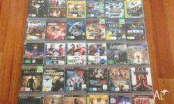 Up for sale are my PS3 Games. Depending on the games,
