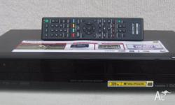 Sony DVD recorder with HDD PVR and High Definition TV