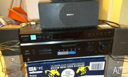 Sony 5 speaker surround sound system to suit any tv or