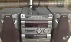 Sony HCD-GR3 hi-fi system which puts out 60 watts per