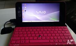 SONY VAIO MODEL VPCP113KX 8INCH EXCELLENT CONDITION