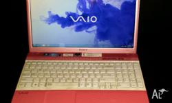 SONY VAIO VEPCH-111 15.5 INCH LAPTOP INTEL CORE 2 DUO