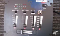 2 Channel Mixer A compact Mixer with Cross Fader and