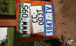SOUTH AUSTRALIA LICENCE PLATE CUSTOM MADE WALL PLAQUE