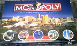 S.A. Charity Edition Monopoly complete and used only