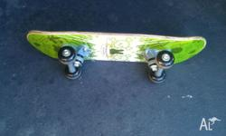 used skateboard in good condition, ideal for kids and