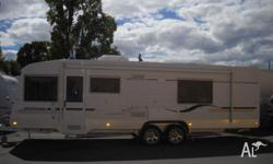 Spaceland Luxury Family Touring Van Tandem 27x7'10,
