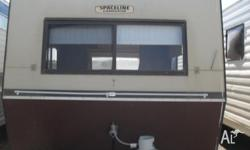 WE HAVE FOR SALE A SPACELINE CARAVAN 1985 ,IT HAS A