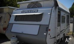 Spaceline Odessy Caravan 2000 Air Conditioned 17'9 x