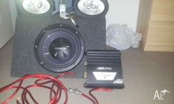 "MTX 6X9s stil work very well 12"" kenwood sub hardly"