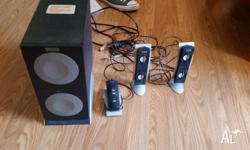Speaker system in good condition. Model Altec Lansing