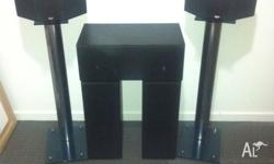 3 x centre and front speakers. Trevor Lees Audio, 100W