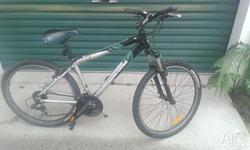 Running great. Good condition. Shimano 24 speed. Hasn't