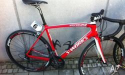 Specialized S-Works 2011, ultergra 7900 groupset with