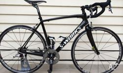 Limited edition S-Works Project Black Tarmac SL3, size