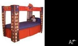 Spiderman Bed Canopy (Canopy only, not bed) $80 firm.