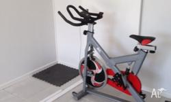 For sale excellent condition spin bike just over year