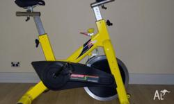 A quality spin bike in excellent condition. Has not