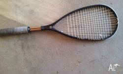Wilson, Tiriad Hammer Squash Racqet. Good condition,