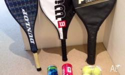 Moving out and no storage to keep these. Rackets-