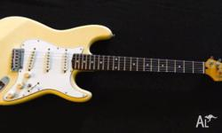 Squier Japan Stratocaster E series mid-1980's This is a