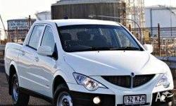 SSANGYONG, ACTYON SPORTS, Q100 MY08, 2010, 4x4, White,