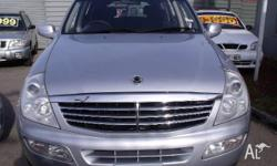 SSANGYONG,REXTON,Y200,2004, 4WD, SILVER, 4D WAGON,