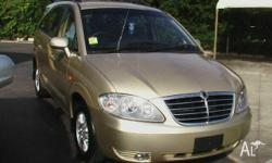 SSANGYONG, STAVIC, A100 08 UPGRADE, 2010, RWD, Gold, 4D
