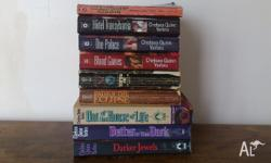 Historical vampire fiction. Most in good condition, a