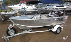 These open style boats are easy to drive, handle well