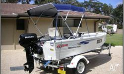 2008 STACER 3.99 PROLINE ANGLER WITH 2012 SUZUKI 30HP 2