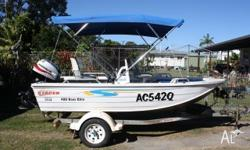 2006 4000 stacer bass elite Side console 40hp mariner
