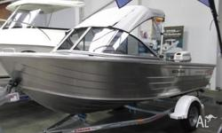 New Stacer 429 Sea Hawk fitted with Evinrude 30 E-Tec