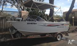 Stacer 460 SunMaster Sports 2005, comes with: - 2013