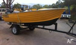 FOR SALE Centre Console 1995 Stacer 4.2 Tiny & Trailer