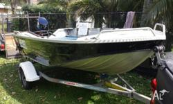 stacer proline with 25hp mercury seapro all ready for